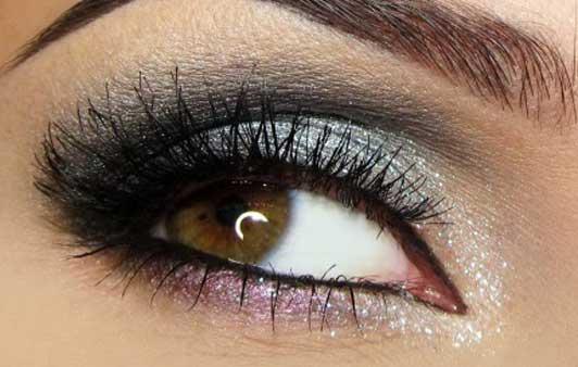 Make-up perfetto per gli occhi castani