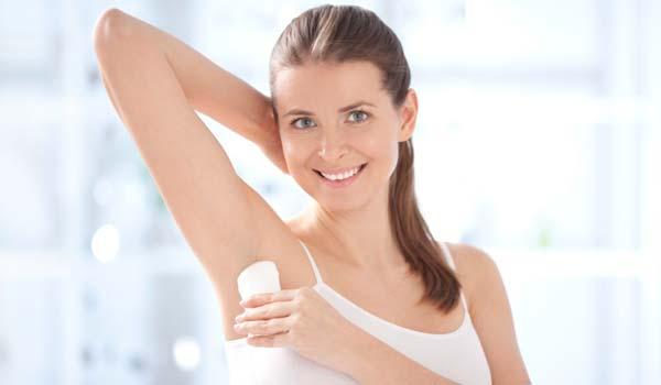 6 Sbagli con il deodorante
